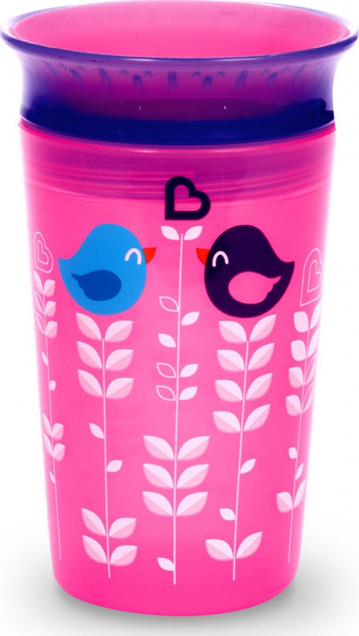 MIRACLE 11008 DECO SIPPY - PINK BIRD