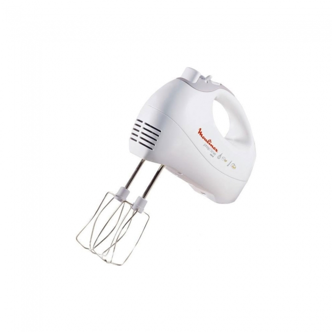 MOULINEX HM4101 Μίξερ χειρός White 450 WATT