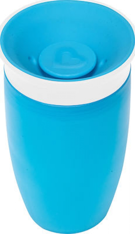 MUNCHKIN 11028 MIRACLE 360SIPPY CUP 296ML BLUE