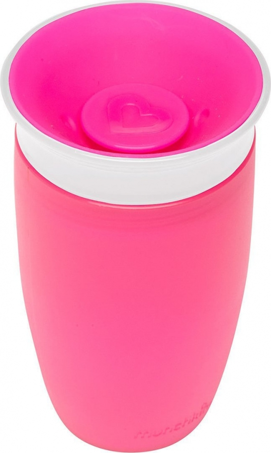 MUNCHKIN 11029 MIRACLE 360SIPPY CUP 296ML PINK