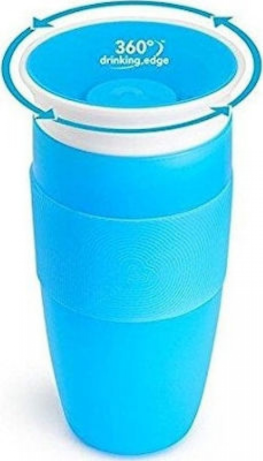 MUNCHKIN 11149 TALL MIRACLE SIPPY 414ML BLUE
