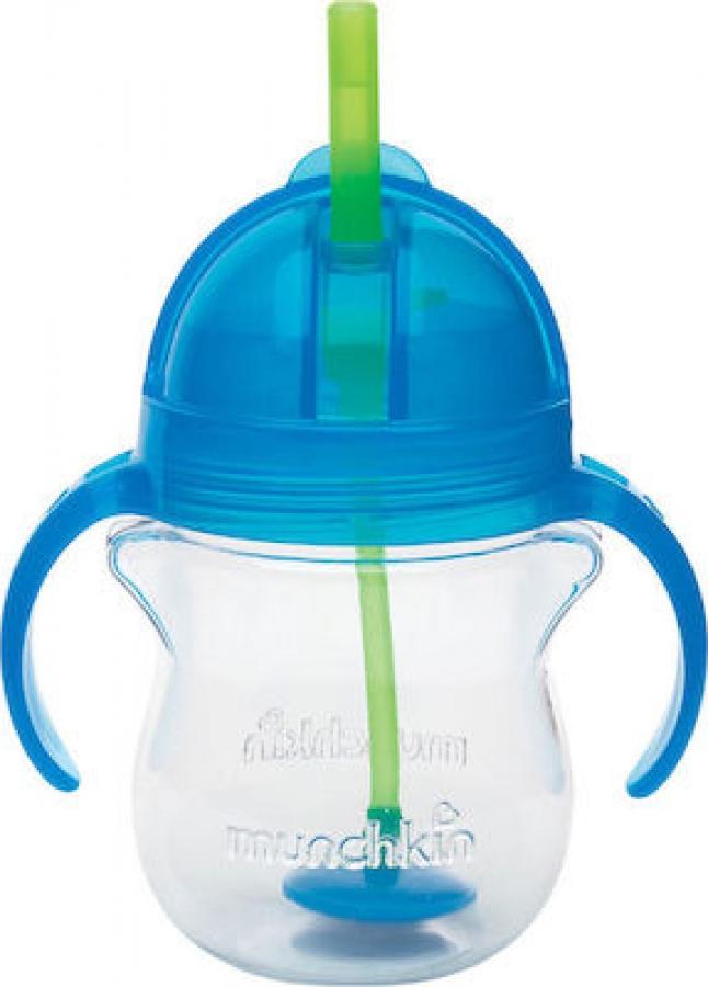 MUNCHKIN 12257 TIP & SIP CUP 207ML  -BLUE
