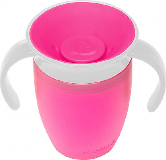 MUNCHKIN 12272 MIRACLE 360 TRAINER CUP PINK