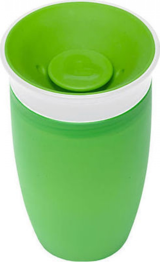 MUNCHKIN 12445 MIRACLE 360SIPPY CUP 296ML GREEN