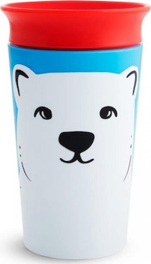 MUNCHKIN 51779 MIRACLE SIPPY CUP 266ML -POLAR BEAR