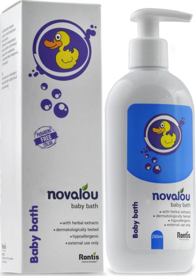 NOVALOU BABY BATH 250ML ΑΦΡΟΛΟΥΤΡΟ (1010101)