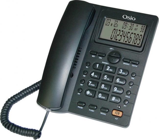 OSIO OSW-4710B Ενσύρματα Τηλέφωνα