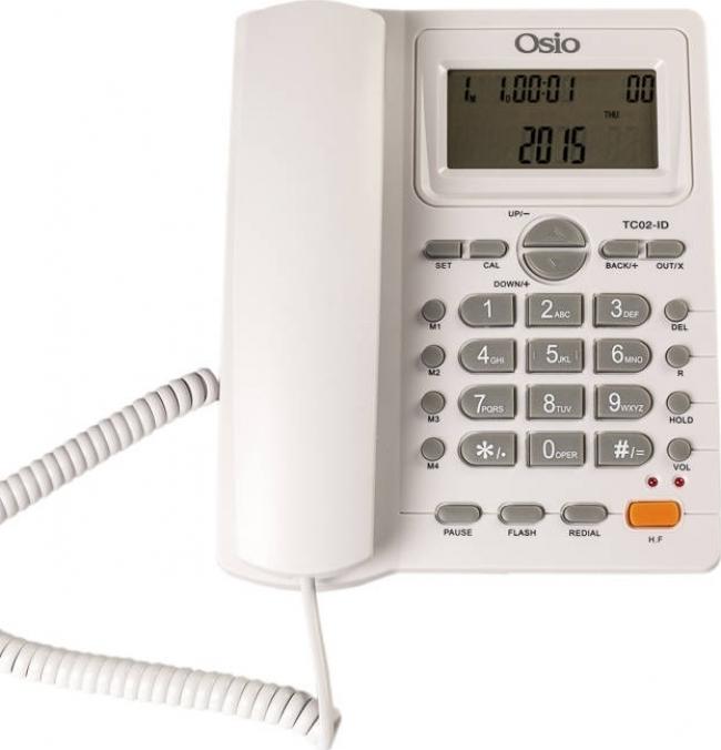 OSIO OSW-4710W Ενσύρματα Τηλέφωνα