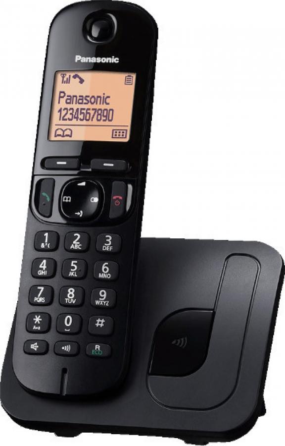 PANASONIC KX-TGC210GRB Ασύρματα Τηλέφωνα Black