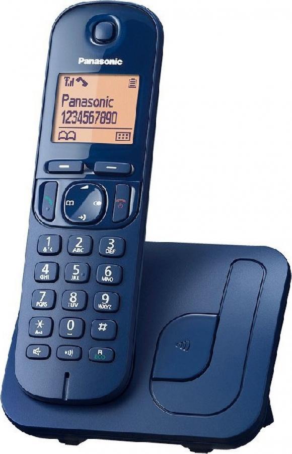 PANASONIC KX-TGC210GRC Ασύρματα Τηλέφωνα Blue