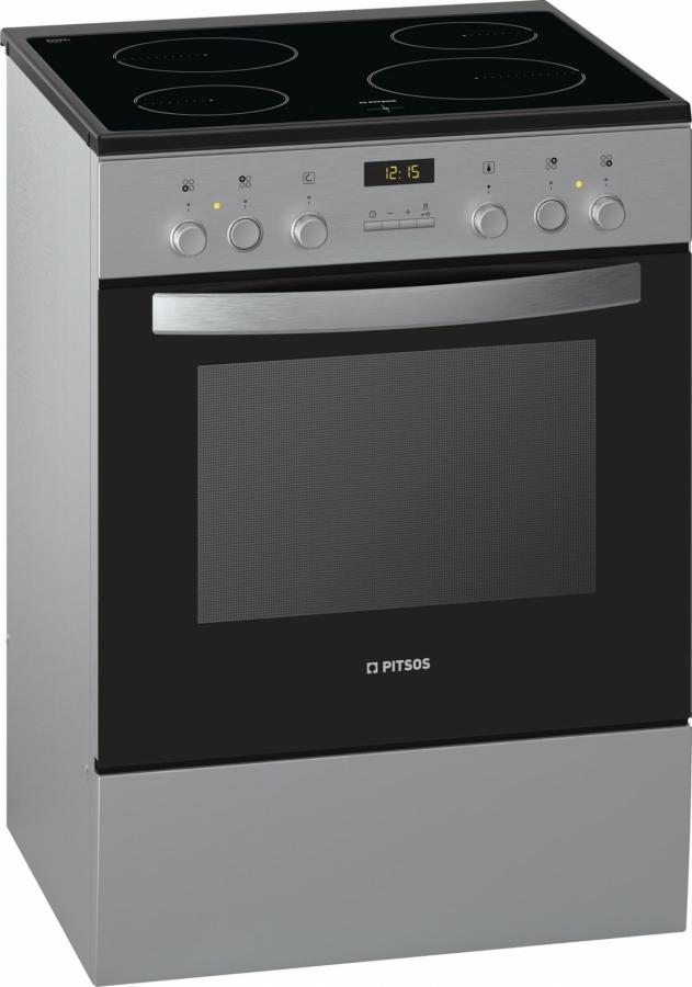 PHCB154M54 Κεραμική Κουζίνα Λευκή