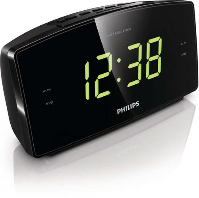 PHILIPS AJ3400 Ραδιο-Ρολόγια Black