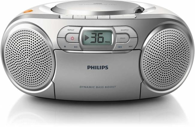 PHILIPS AZ 127/12 Φορητά Ράδιο-Cd