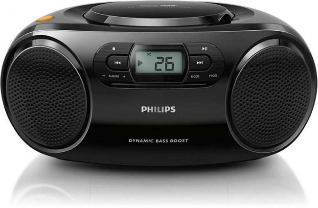 PHILIPS AZ320/12 Φορητά Ράδιο-Cd