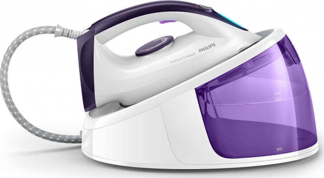 PHILIPS GC6704/30 Γεννήτριες ατμού White/Purple