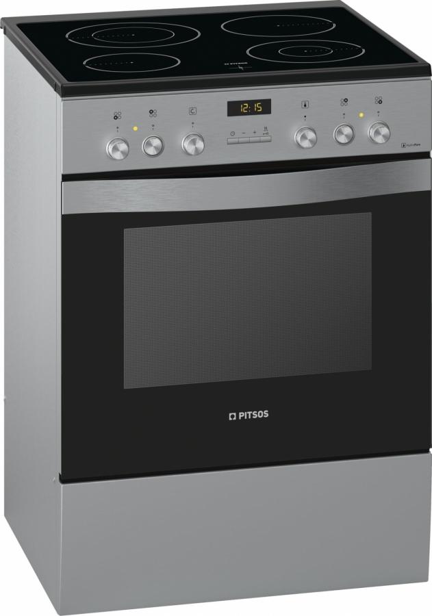 PHTB855M50 Κεραμική Κουζίνα Inox