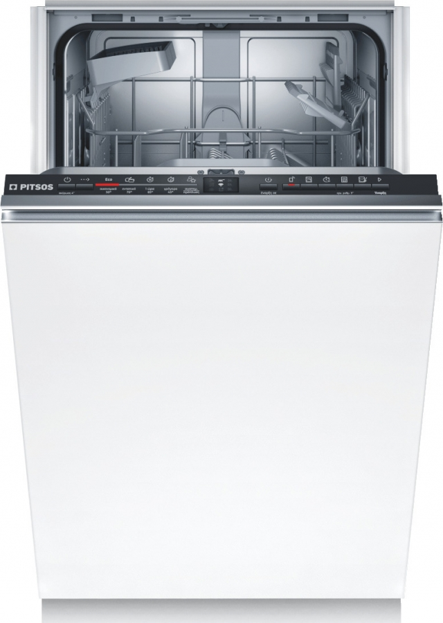 PITSOS DVS50X00 45CM Πλυντ. πιάτων Πλήρως Εντοιχισμένο A+.