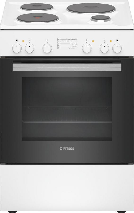 PITSOS PHA005020 Ηλεκτρικές κουζίνες White