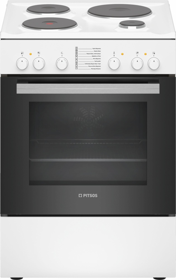 PITSOS PHA009020 Ηλεκτρικές κουζίνες White