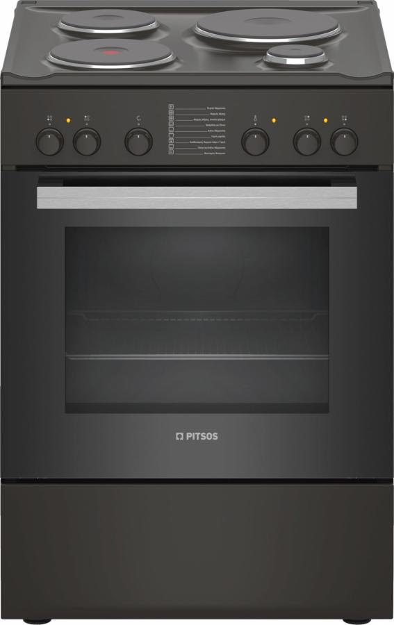 PITSOS PHA009090 Ηλεκτρικές κουζίνες Brown
