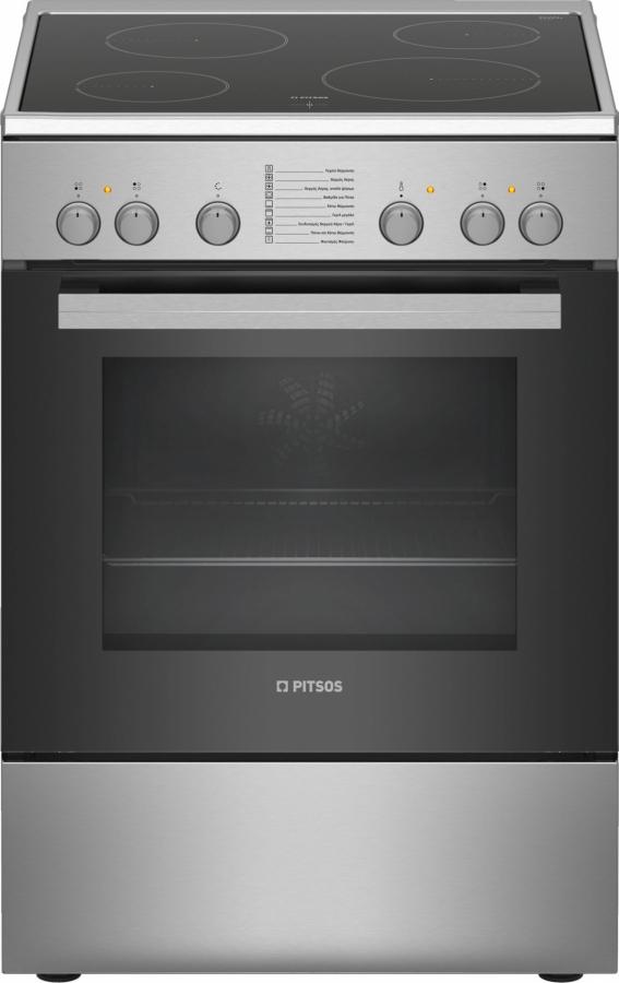 PITSOS PHC009150 (FAMILY) Ηλεκτρικές κουζίνες Inox