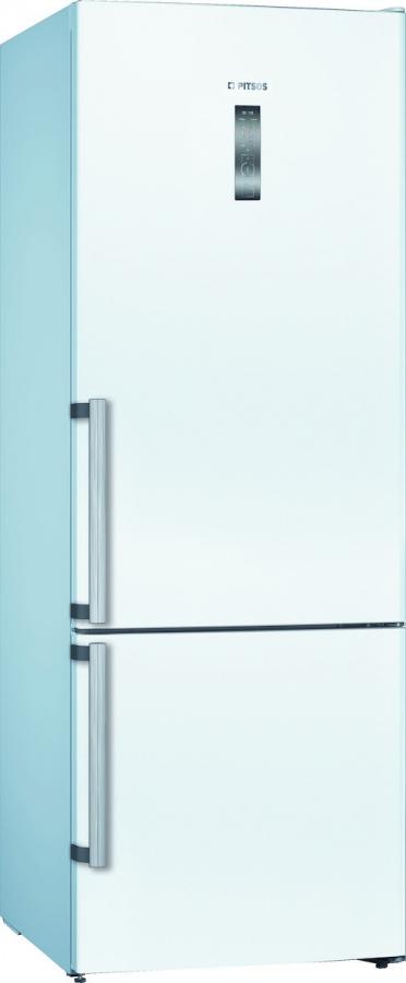 PITSOS PKNB56VWEP Ψυγει/ψύκτης Λευκός FULL NoFrost (508LT) XXL - 193 X 70 X 80cm - 10 ΧΡΟΝΙΑ ΕΓΓΥΗΣΗ  ΣΤΟ ΜΟΤΕΡ.