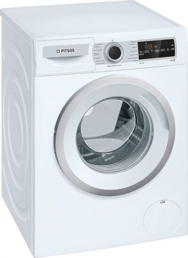PITSOS WNP1200E8 Πλυντήρια ρούχων 8KG .A+++