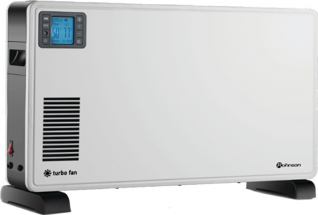 ROHNSON R-019 Θερμοπομποί/Convector 2300 -Turbo Μέ τηλεχειριστήριο.Ψηφιακή Οθόνη.