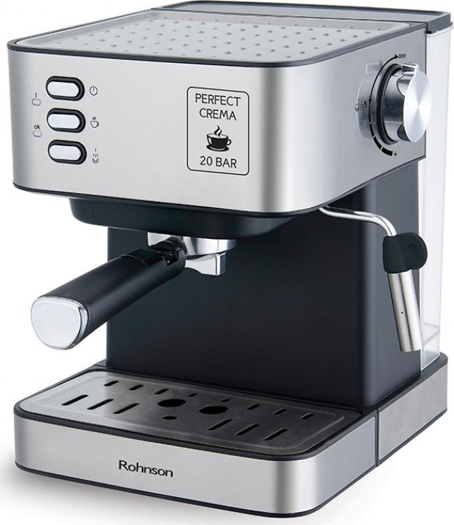 ROHNSON R-982 Μηχανές Espresso Inox