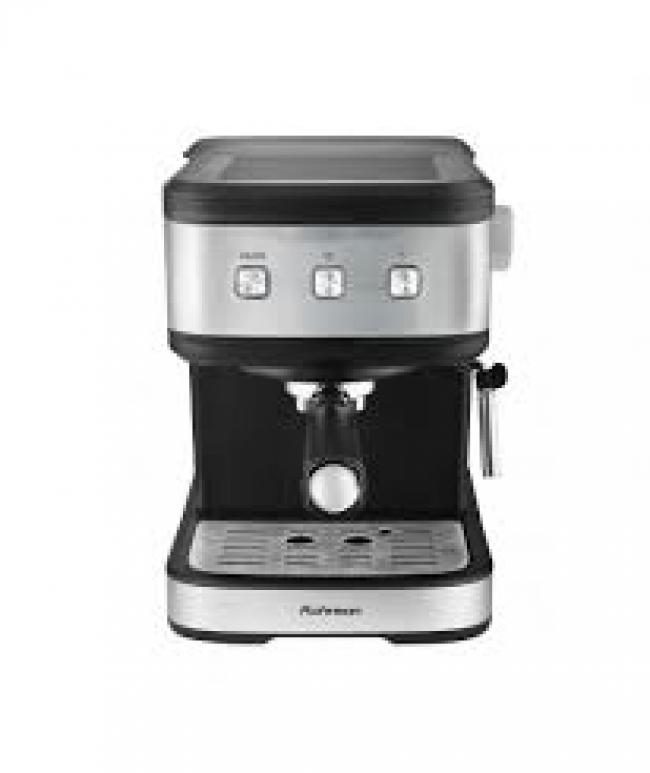 ROHNSON R-987 Μηχανές Espresso Black/Silver