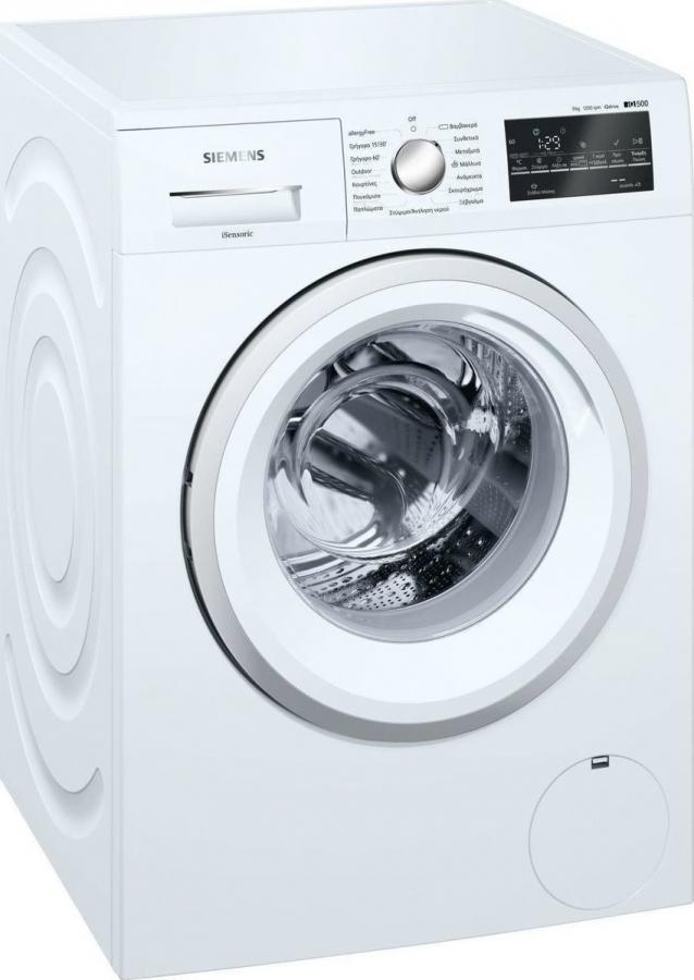 SIEMENS WM12T469GR Πλυντήρια ρούχων 9KG, A+++ -30%, 1200Rpm. ΔΙΠΛΗΣ ΠΑΡΟΧΗΣ.