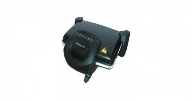 T 0232 Black Τοστιέρα /Ψηστιέρα