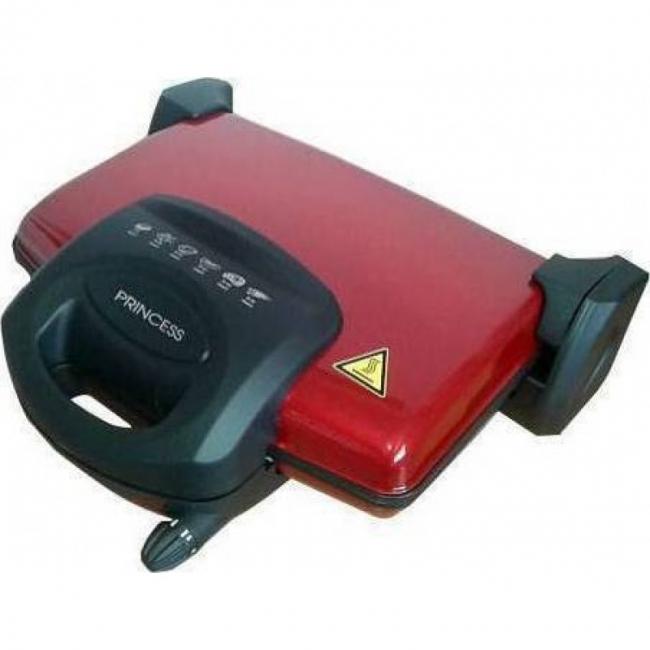 T 0232 Red Τοστιέρα/Ψηστιέρα
