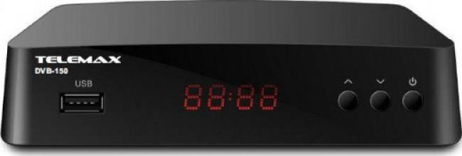 TELEMAX DVB-150 H.265/ HEVC Αποκωδικοποιητές Mpeg4