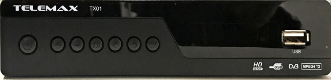 TELEMAX DVB-T2 H.265/HEVC ΕΠΙΓΕΙΟΣ ΔΕΚΤΗΣ Αποκωδικοποιητές Mpeg4