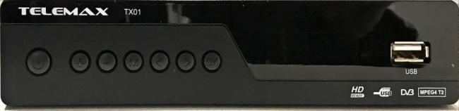 TELEMAX DVB TX-01 Αποκωδικοποιητές Mpeg4