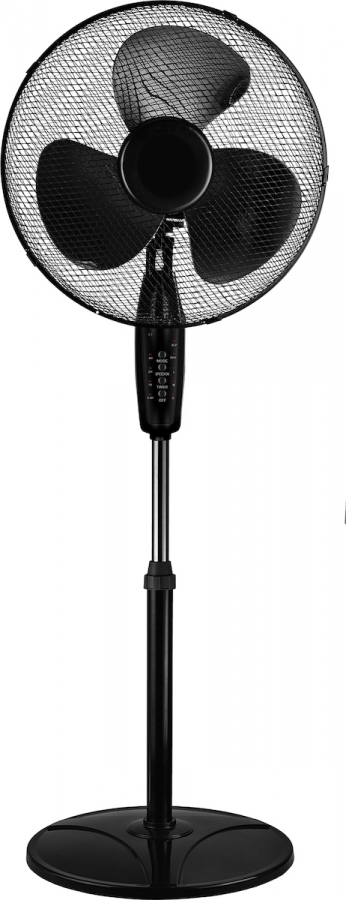 TELEMAX FS-1617RC Ανεμιστήρες δαπέδου Black