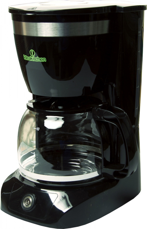 TELEMAX IDEAKITCHEN CM-108 Καφετιέρα φίλτρου/Γαλλικού Black