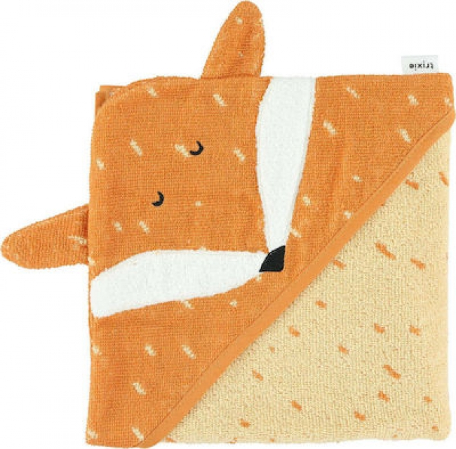TRIXIE 77108 HOODED TOWEL MR. FOX
