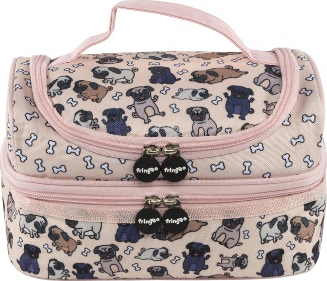 TRIXIE LUNCH BAG -PUG WORLD 550249