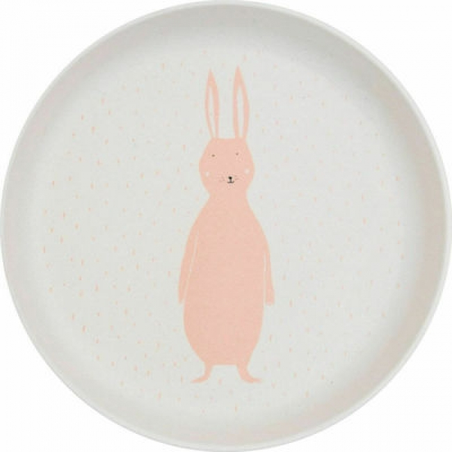 TRIXIE PLATE MRS. RABBIT 77316
