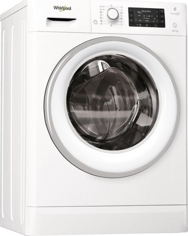 WHIRLPOOL FWDD1071681WS Πλυντήρια-Στεγνωτήρια(10KG-7KG).