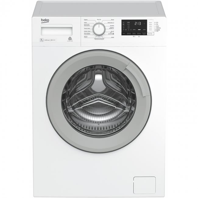WTV 7512 BW 7KG Πλυντήριο Ρούχων