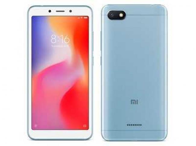 XIAOMI MI REDMI 6A 16GB Smartphones Blue