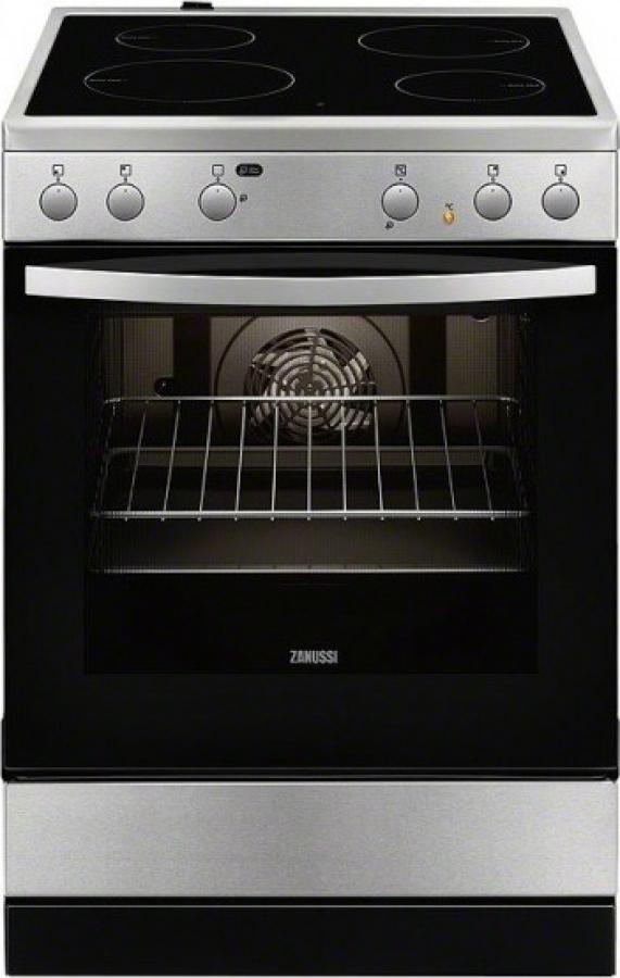 ZANUSSI ZCV65020XA Ηλεκτρικές κουζίνες Inox