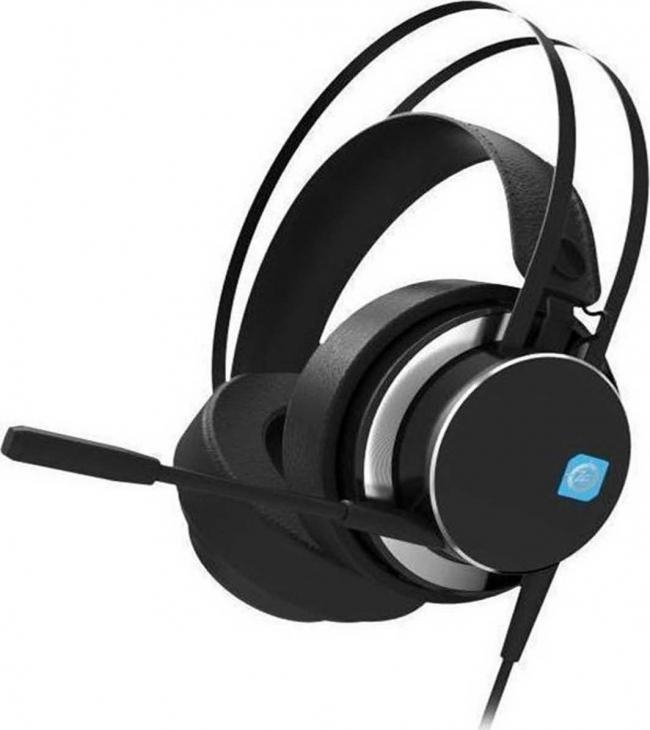 ZEROGROUND HD-2400G KEIJI 7.1 USB Ακουστικά-Μικρόφωνα Black
