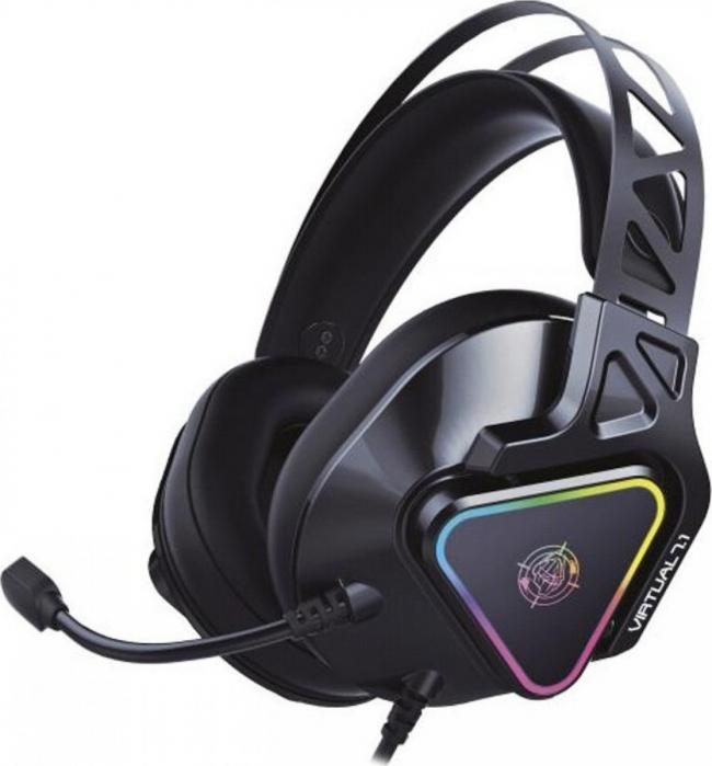 ZEROGROUND HD-3000G AKECHI PRO USB 7.1 Ακουστικά-Μικρόφωνα