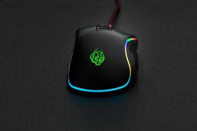 ZEROGROUND MS-3000G RGB SORIIN Ποντίκια Black